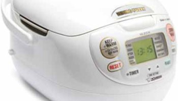 The Neuro Fuzzy Rice Cooker