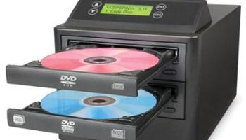 The One Step DVD CD Duplicator