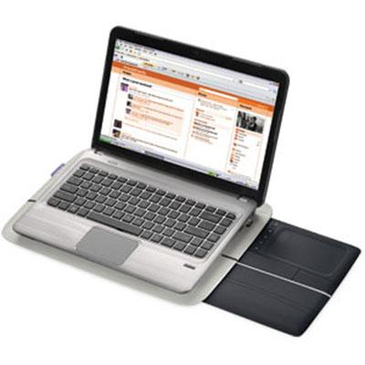 Lapdesk with USB Touchpad