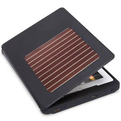 The Solar Charging iPad Case