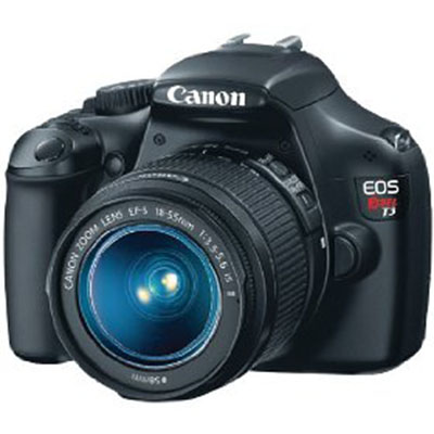 Canon EOS Rebel T3 12.2MP CMOS Digital SLR with 18-55mm IS II Lens and EOS HD Movie Mode