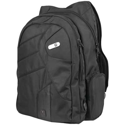Powerbag Back Pack with Battery for Charging Smartphones, Tablets and eReaders