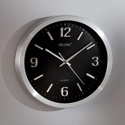 The Live Video Feed Surveillance Clock
