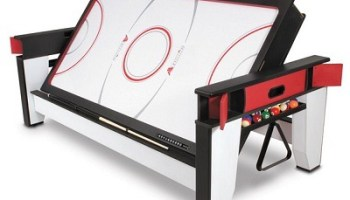 The Rotating Air Hockey To Billiards Table