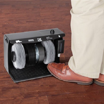 The Hands Free Electric Shoe Polisher