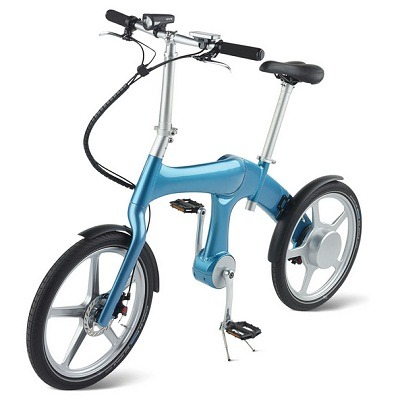 The Self Charging Electric Bike 1