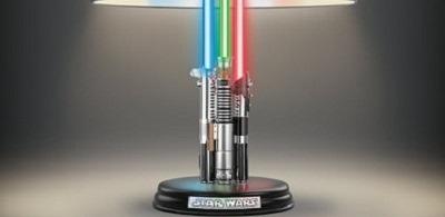The Star Wars Lightsaber Legacy Lamp 2