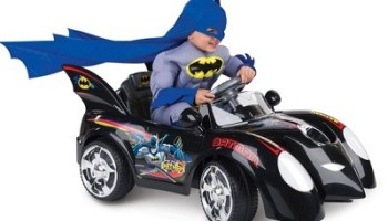 The Young Caped Crusaders Batmobile