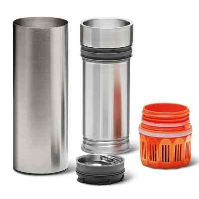 The Travelers Water Purifying Bottle