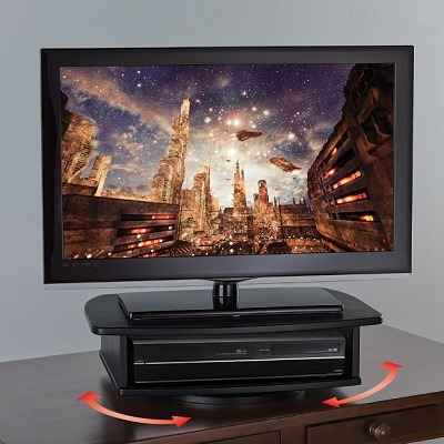 The 360 degrees Swiveling TV Stand