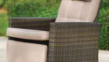 The Weatherproof Outdoor Recliner