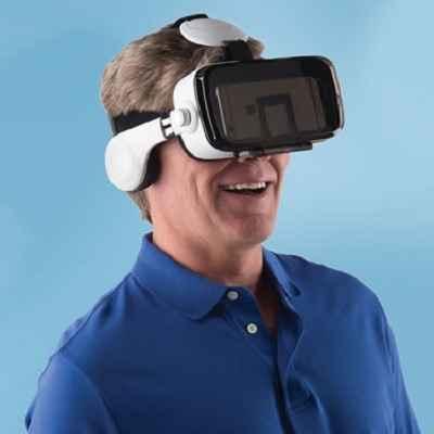 the virtual reality headset