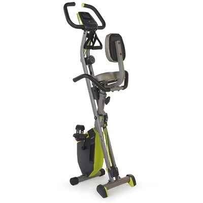 The Stowable Exercise Bike with Resistance Bands