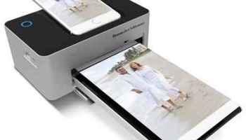 The iPhone Charging Photo Printer