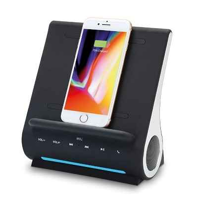 The iPhone 8 and X Wireless Speaker Dock