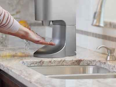 The Towel Eliminating Touchless Hand Dryer 1