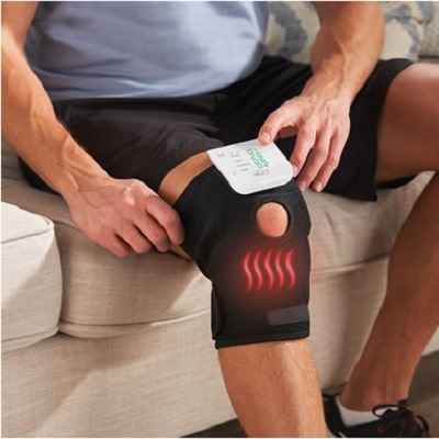 The Heated And TENS Knee Wrap