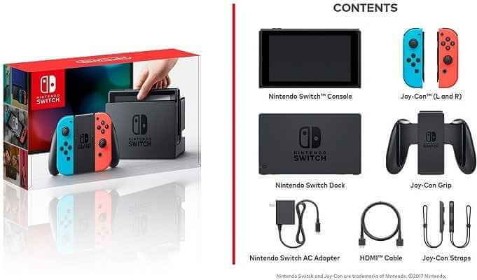 Nintendo Switch 3 items Bundle 1