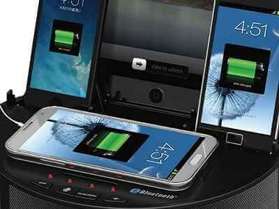 The Five Device Charging Speaker 1