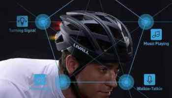 The Wireless Turn Signal Tail Light Bike Helmet