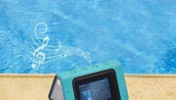 The Waterproof Speaker Tablet