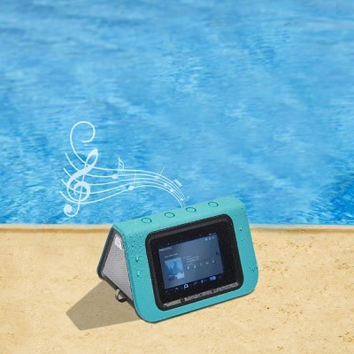 The Waterproof Speaker Tablet