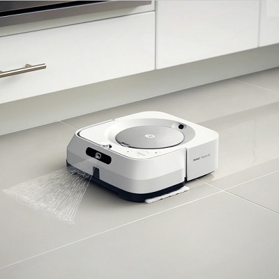 Voice Controlled Robotic Wet and Dry Mop