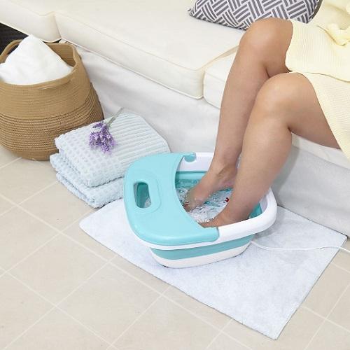 Fold Flat Heated Foot Spa1
