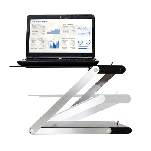 Portable Adjustable Sit Stand Desk1