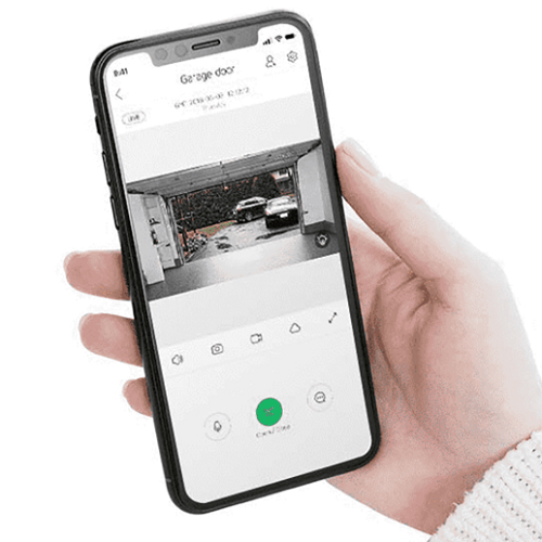 Smartphone Garage Door Opener1