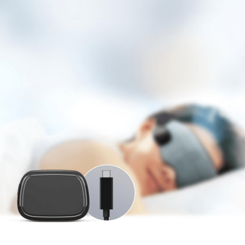 Heated Total Black Out Sleep Mask1