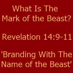 branding mark of the beast Satan