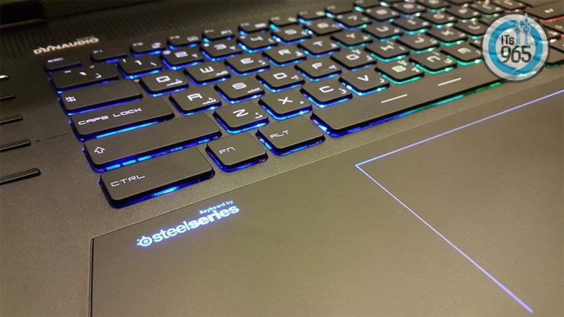 MSI GT72 and Steel Series Keyboard