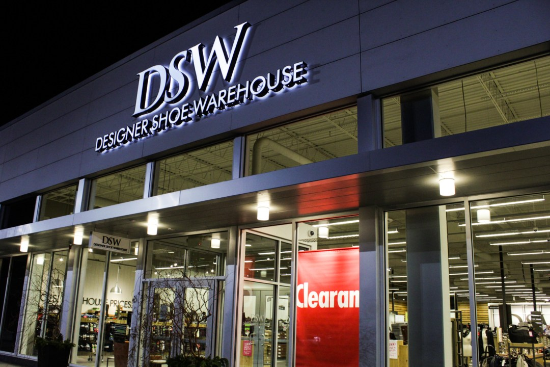 DSW store front