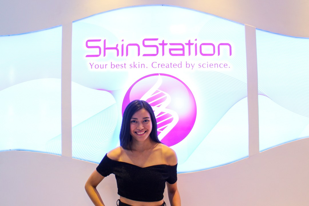 Adi Amor at the Skin Station Grand Opening