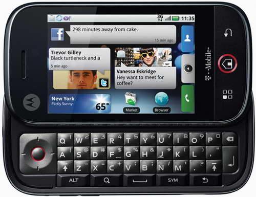 Motorola Cliq Qwerty