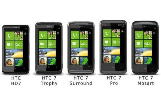 HTC Windows Phone 7 Mobile Phones