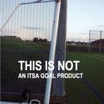 integral rolller goalpost at Dinnington