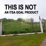 Football Goals, poor unsafe storage