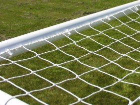 9v9 uPVC goal post net hooks