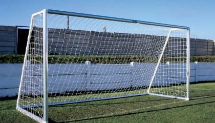 Aluminum Football Goal Post – Mini Soccer Goal 12'x6′ – Flat pack