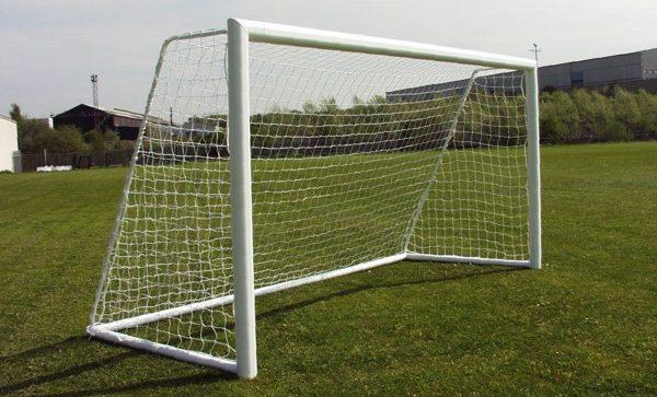 Aluminium Goals, Mini Soccer 12' x 6' football goals