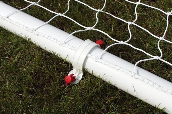 Football Goals, 9v9 uPVC goalpost 16' x 7'