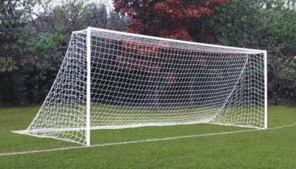 Steel Anti-Vandal 24'x8′ – Two Section Crossbar Goal