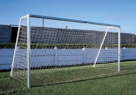 16X7 ALUMINIUM FOOTBALL GOALS