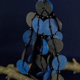 oorbel blauw recycled plastic duurzaam eco fairtrade teenslippers flipflop 122334475212