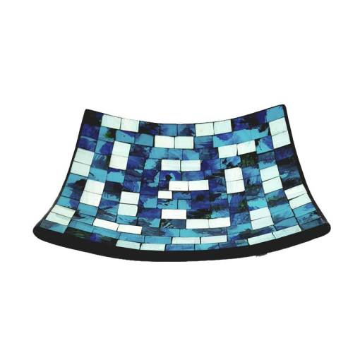 blauw wit mosaic