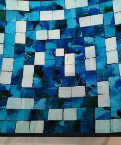 blauw wit schaal