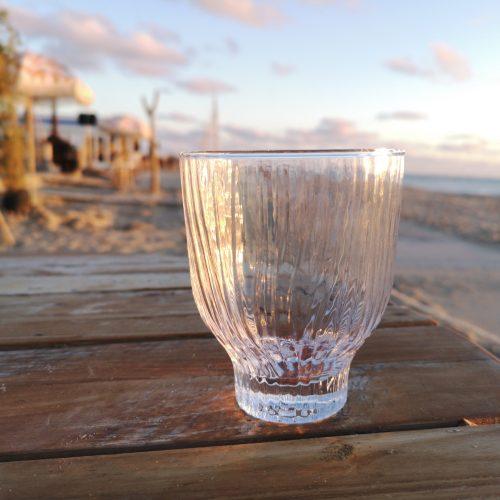 helder loodvrij kristal 300ml glas