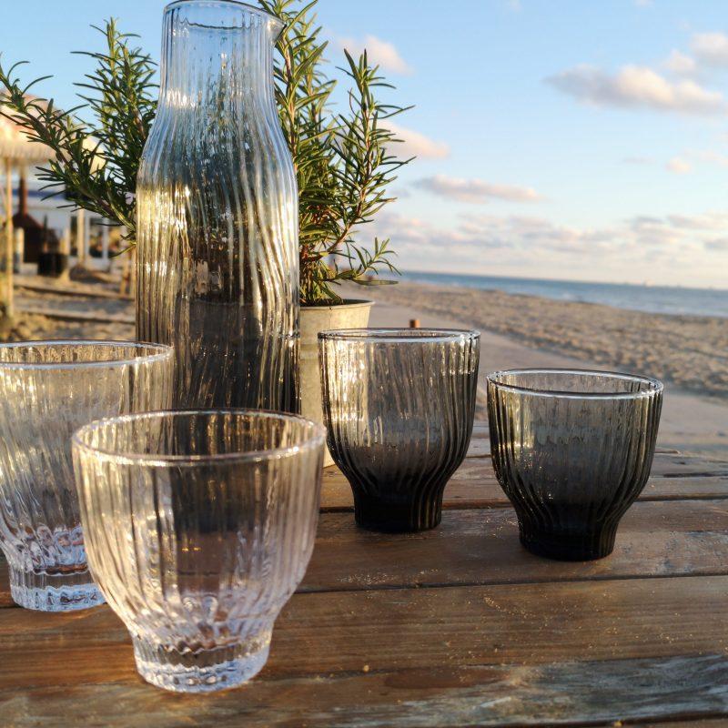 helder loodvrij kristal glas